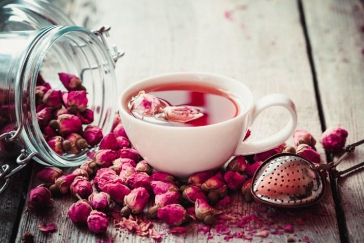 فوائد شاي الورد