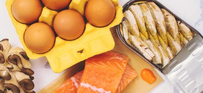الأطعمة التي تحتوي على فيتامين
