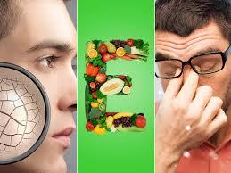 أعراض نقص فيتامين هـ