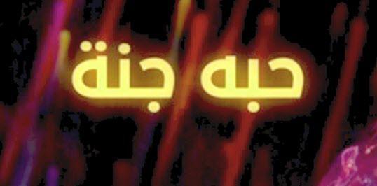 كلمات حبه-جنة شيرين عبدالوهاب مكتوبة