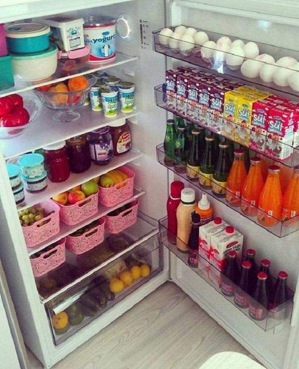 خلطات تنظيف الثلاجة