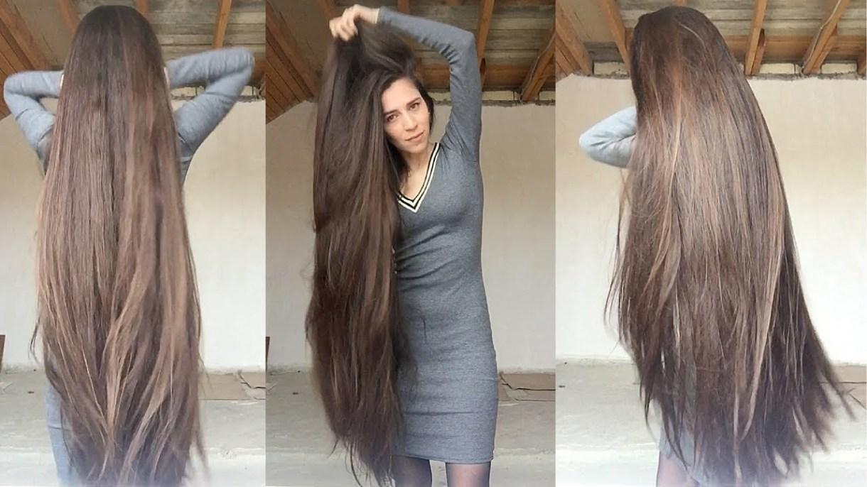 تطويل الشعر في شهر مجربه