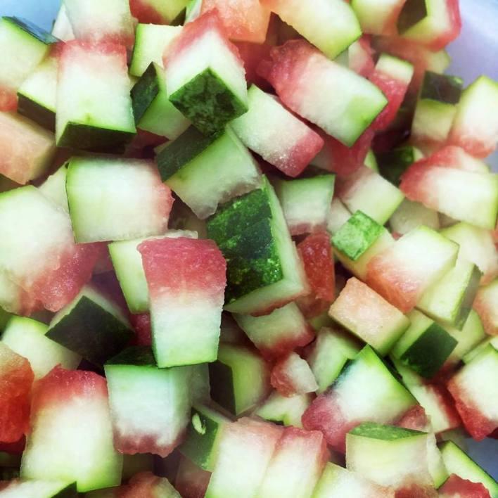 قشر البطيخ للبشرة