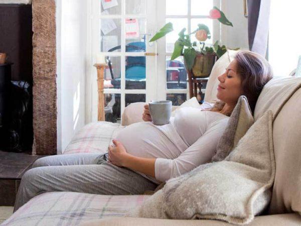الألم أثناء الحمل