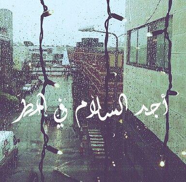 صورة أجد السلام في المطر