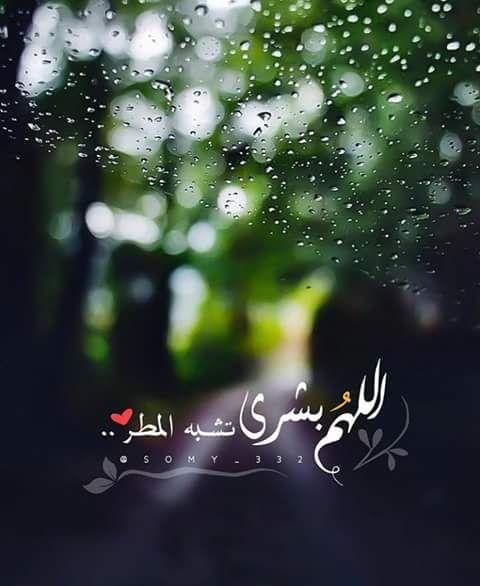 دعاء المطر - اللهم بشرى تشبه المطر