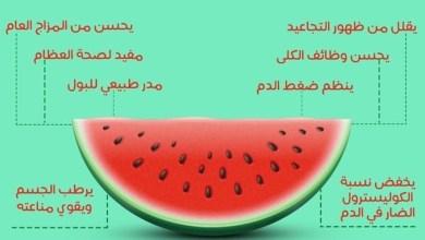 Photo of فوائد البطيخ