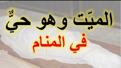 Photo of تفسير حلم الميت حي