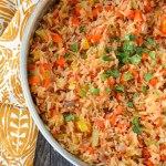 أرز على الطريقة المكسيكية