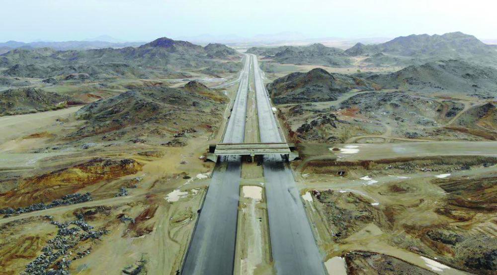 صور الأراضي المملوكة للدولة على طول طريق جدة – مكة