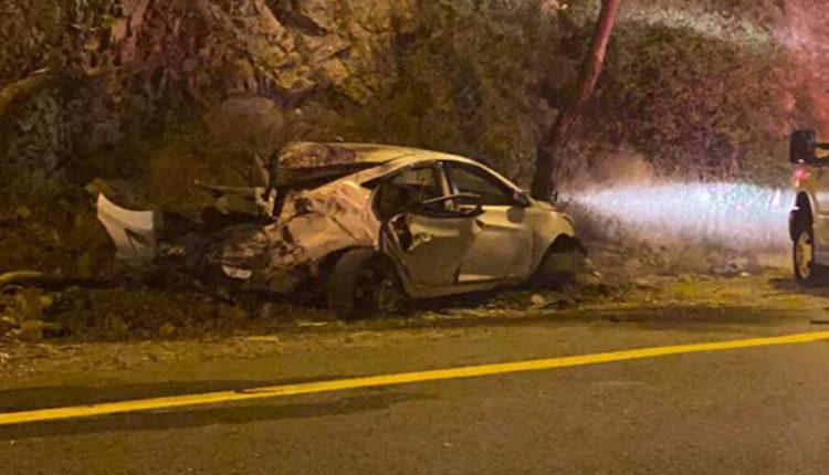 صور حادث في الباحة مروع
