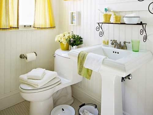 ديكور حمامات صغيرة . 5