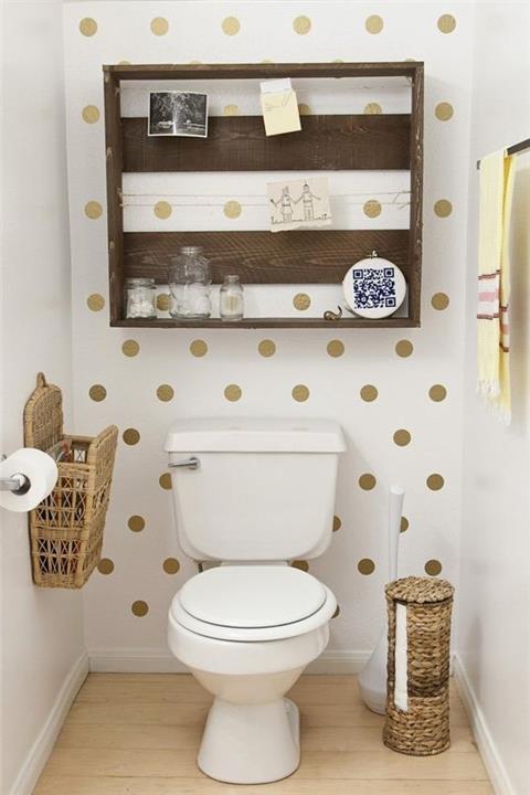 ديكور حمامات صغيرة . 7