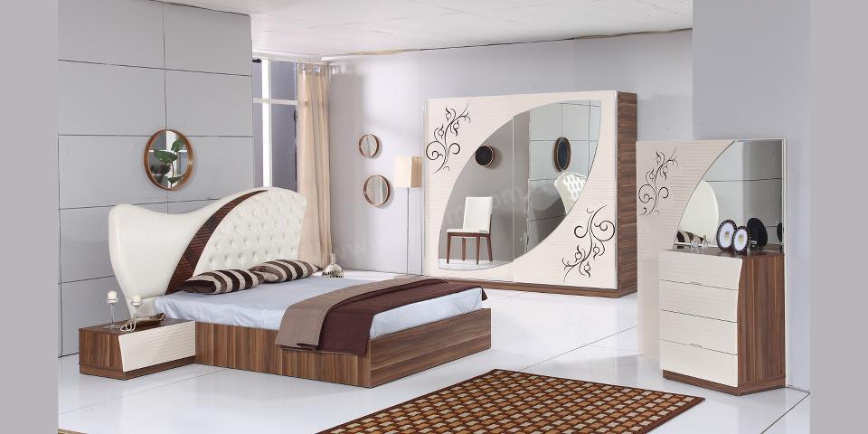 غرف نوم حديثة . 1