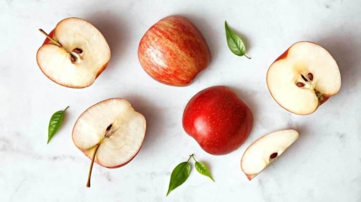 التفاح من الأغذية منخفضة السعرات الحرارية