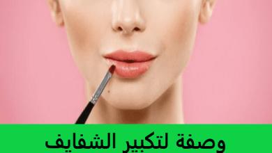Photo of وصفة لتكبير الشفايف