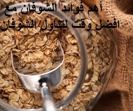 Photo of أهم فوائد الشوفان مع افضل وقت لتناول الشوفان