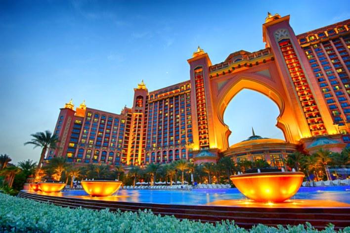 افخم الفنادق في دبي 2020 .