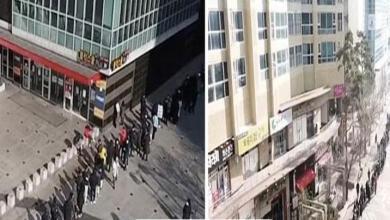 """Photo of شاهد: طابور بشري لآلاف الأشخاص في كوريا الجنوبية للحصول على """"الكمامات"""""""