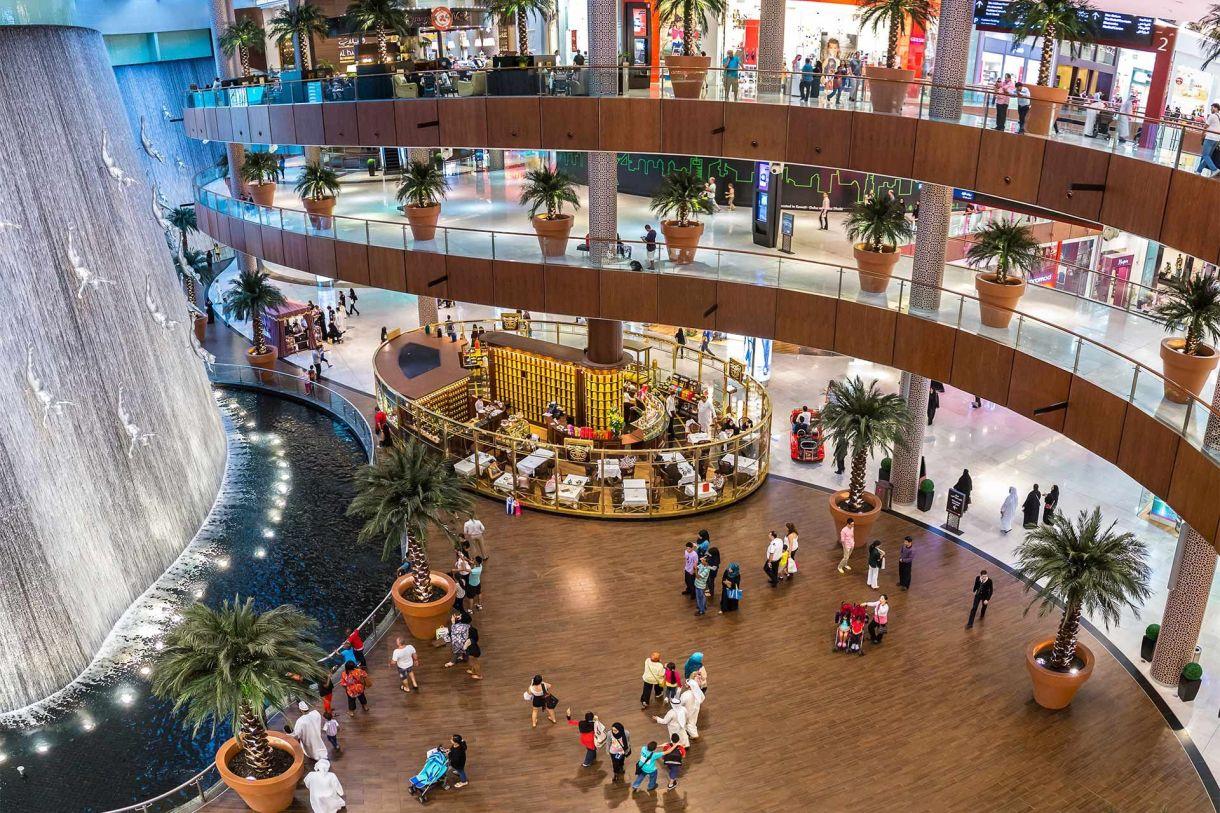 مولات تجارية في دبي