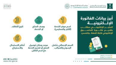 Photo of وزاره التجاره توضح أبرز البيانات التي يجب أن تتوفر في الفاتورة الإلكترونية