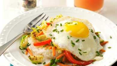 Photo of 7 وصفات صحية من البيض