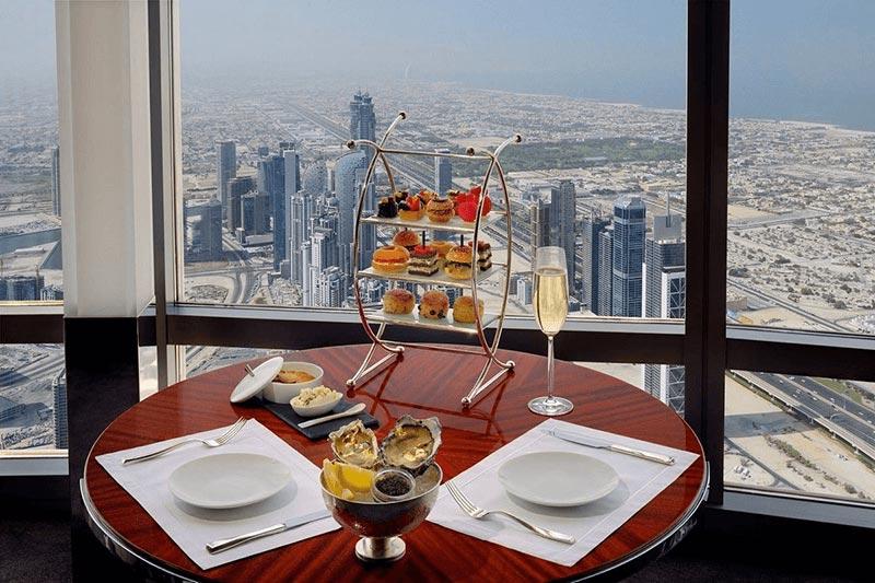 مطعم اتموسفير دبي