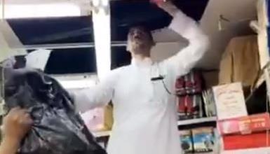 Photo of فيديو.. صاحب محل يلجأ لحيلة ماكرة لبيع السجائر مجهولة المصدر في الرياض