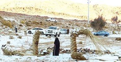 Photo of تبوك والثلج.. الموعد الثاني