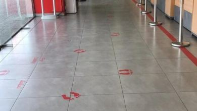 "Photo of إجراء جديد من أمانة جدة لمنع تفشي فيروس "" كورونا "" بين المتسوقين -صور"