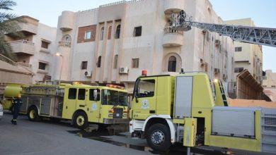 "Photo of ""الدفاع المدني"" ينقذ عائلة من جنسية عربية احتجزها حريق في جدة"