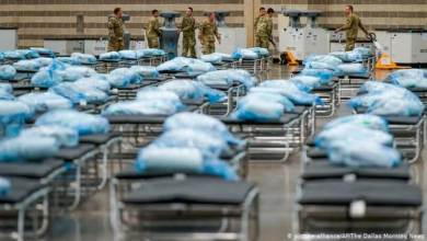 "Photo of عدد إصابات ""كورونا"" يتخطى عتبة المليون عبر العالم"