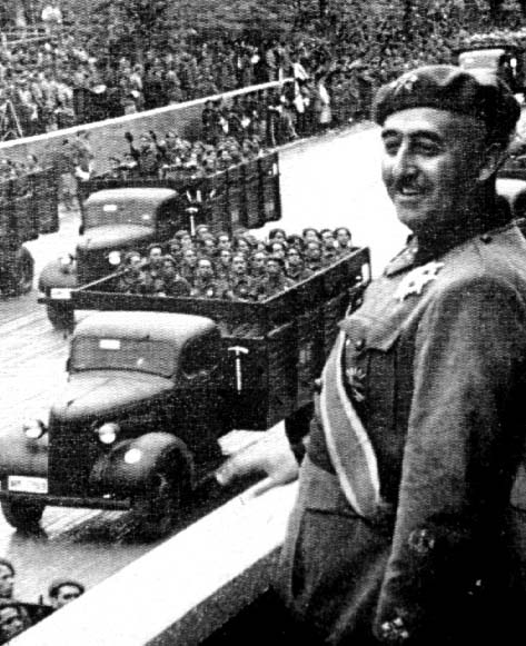 franco with troops