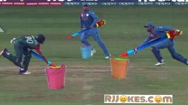 Funniest Photoshop T20 world Cup Match
