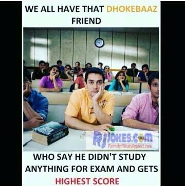 Exam time situation of every students are in these meme
