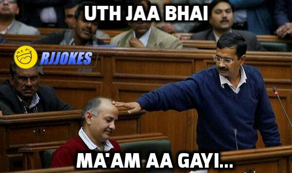 Kejriwal aap jokes