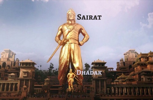 8 funny picture / Meme of Dhadak vs Sairat