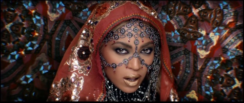 Beyonce's first look in Isha Ambani pre-wedding - Sangeet