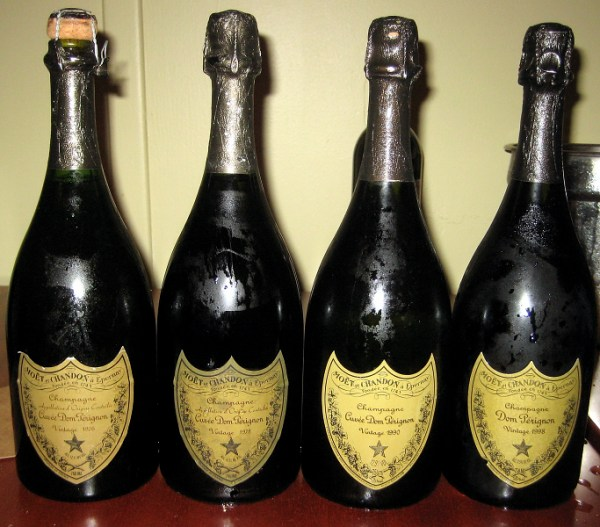 Dom Perignon flight