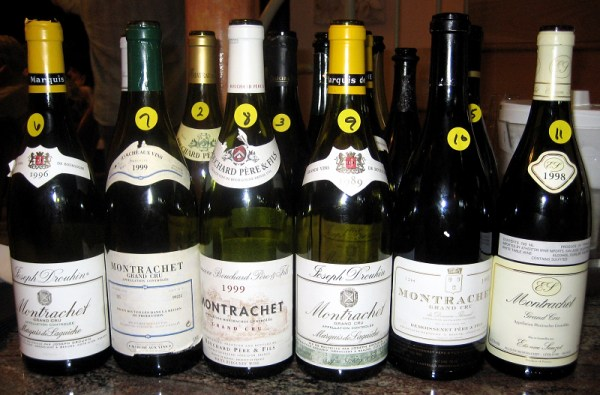 wines from the world's greatest Chardonnay vineyard, Montrachet