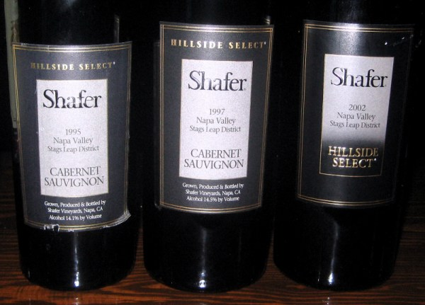 Shafer Hillside Select vertical