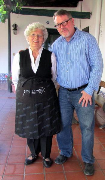 Julia Martinez and Richard at Carrau