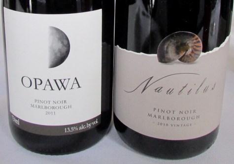 Nautilus Pinot Noirs