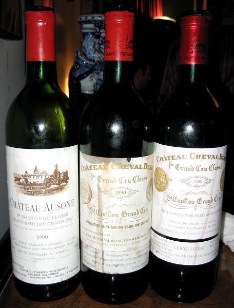Ausone and Cheval Blanc
