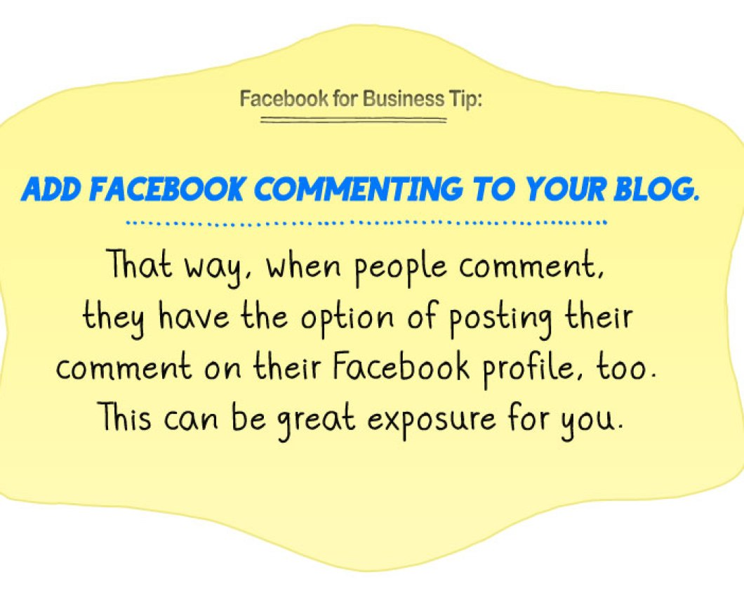 facebook business tip