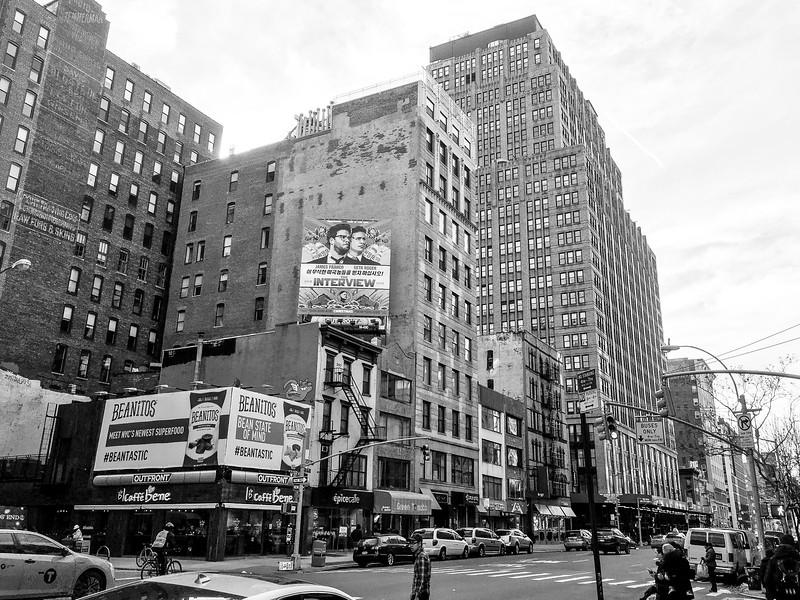 nyc street/buildings