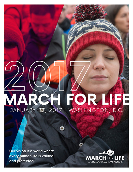 Image result for Pro-life march washington dc January 27, 2017