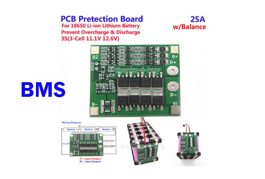 วงจร BMS (Battery Management System) ในแบตเตอรี่แพ็ค คืออะไร