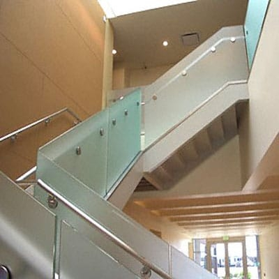 Glass Railings Glass Service Residential Commercial Custom | Staircase Railing With Glass | Low Cost | Cost | Residential | Pinterest | Spiral