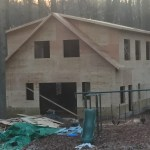 Sheathing completed
